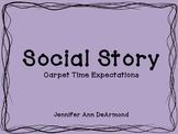Social Story: Carpet Time