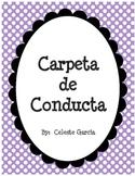 Carpeta de Conducta (Spanish)