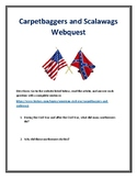 Carpetbaggers and Scalawags Webquest (Civil War) With Answer Key!