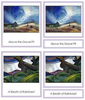 Carr (Emily) 3-Part Art Cards - Color Borders