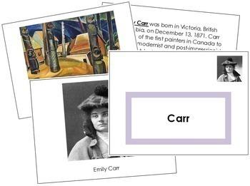 Carr (Emily) Art Book - Color Border