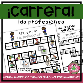 Carrera Board Game - Las profesiones