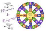 Carrera de Compras - Spanish Food Vocabulary Game (plus Sm