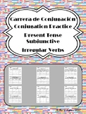 Carrera de Conjugacion: Irregular Present Subjunctive Verb Practice