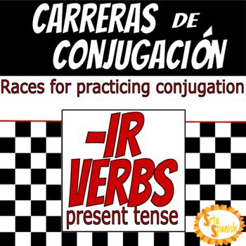 Carreras de Conjugación- IR Verbs in Present Tense