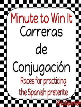 Carreras de Conjugación- Spanish Preterite