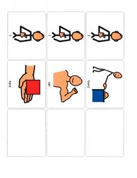 Carrier phrases 5 senses
