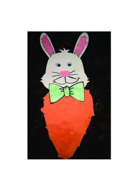 Carrot Bunny Craftivity