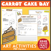 Carrot Cake Day FREEBIE (February 3)