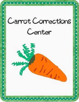 Carrot Corrections Grammar Center