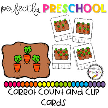 Carrot Count and Clip {Dollar Deal}