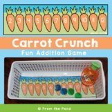 Spring Addition Game - Carrot Crunch