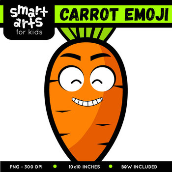 Carrot Emoji Clip Art