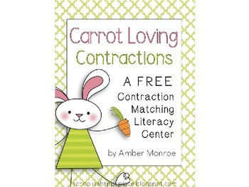 Carrot Loving Contractions {A Free Contraction Matching Li
