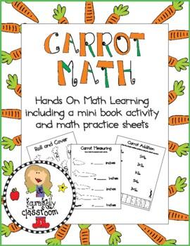 Carrot Math Activities and Mini Book