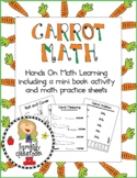 Carrot Math Activities and Mini Book