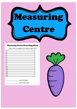 Carrot Measurement Centre