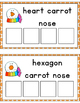 Carrot Nose Shape Sorting