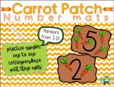 Carrot Patch - NUMBER MATS