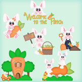 Carrot Patch Spring Clip Art