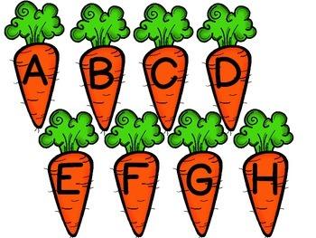 Carrot Sensory Bin Freebie
