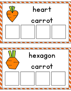 Carrot Shape Sorting