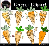 Carrots Clipart - Easter Clipart