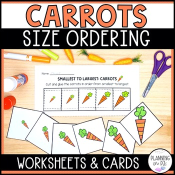 Carrots - From Smallest to Largest