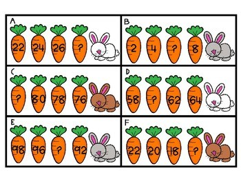 Carrots~ Missing Numbers
