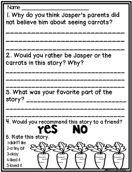 Carrots Point of View and More