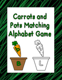 Carrots and Pots Alphabet Matching Game