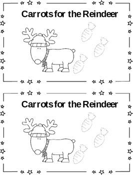 Carrots for Reindeer - 2 Digit Addition and Subtraction (n