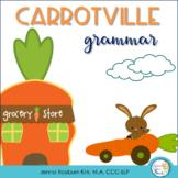 Carrotville: A Spring Grammar Activity Set