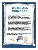 Carryover Activities for We're All Wonders