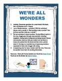 Carryover Activities for We're All Wonders