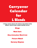 Carryover Calendar for L Blends