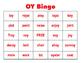 Carryover Calendar for Vowel Diphthongs