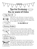 Carryover Handout for the /s/ sound