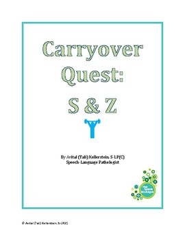 Carryover Quest: S & Z