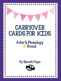 Carryover cards for Kids : S Sound