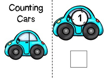 Cars Adapted Books: Counting Cars and Colorful Cars