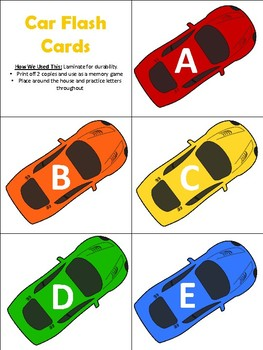 Cars! {An Infant/Toddler Activity Pack}