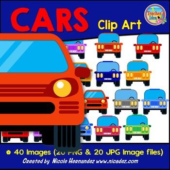 Cars Clip Art for Teachers