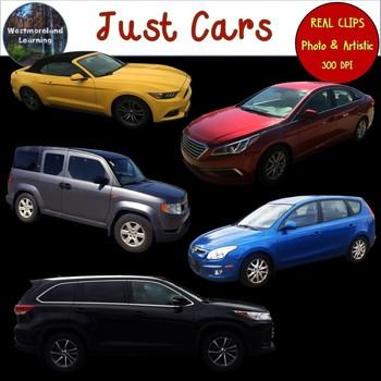 Cars Clip Art Photo & Artistic Digital Stickers Just Series