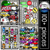 Cars Clipart MEGA Bundle