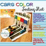 Cars Color Sorting Mat
