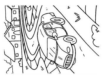 Cars Coloring Pack