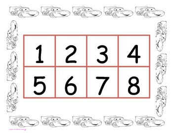 Cars Counting Mat