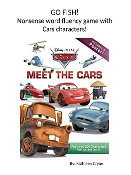 Cars Go Fish ~ CVC and CVCe words