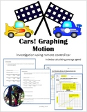 Cars! Graphing Motion & calculating speed  TEKS 6.8CD